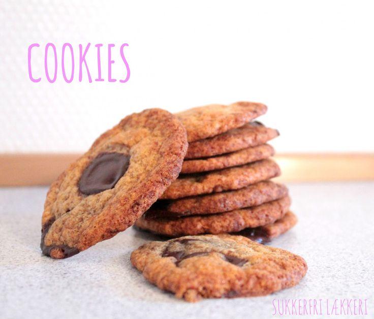 Jeg ELSKER bare en rigtig god amerikansk chokolade cookie, NAMNAM!!! Den perfekt cookie skal helst have sprød/sej kant og overflade men samtidig have en dejlig blød midte. Til mit held var det lige præcis hvad denne cookie fik, de smager helt som de originale cookies selvom de er både lowcarb og....