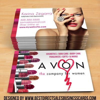 Best Avon Business Cards Ideas Images On Pinterest Business - Avon business card template