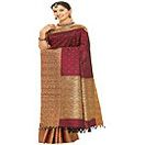 Maroon Kanjivaram Saree for your mom. Available at : www.flowersgiftshyderabad.com/MothersDay-Gifts-to-Hyderabad.php