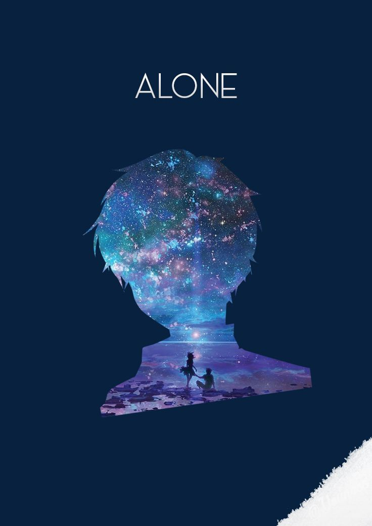 Alone Wallpaper Iphone Wallpapers Background Anime Wallpaper