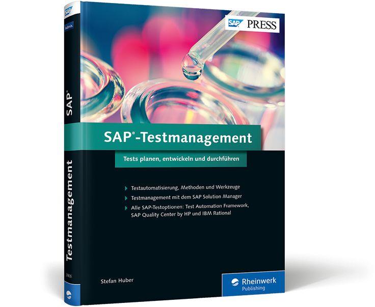 Buchtitel: SAP-Testmanagement Entwickeln Sie eine maßgeschneiderte Teststrategie! So vermeiden Sie Überraschungen bei der Einführung und dem Upgrade von SAP-Software. Erfahren Sie, mit welchen Testoptionen und Werkzeugen der SAP Solution Manager Sie beim Testen von SAP-Lösungen unterstützt: von der Test Workbench über SAP Test Acceleration and Optimization (TAO) bis hin zu IBM Rational. Profitieren Sie auch von vielen wertvollen Tipps zur Vorbereitung und Testphase.