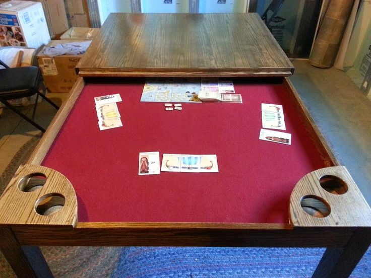Diy Gaming Table Game Tables Pinterest Game Tables