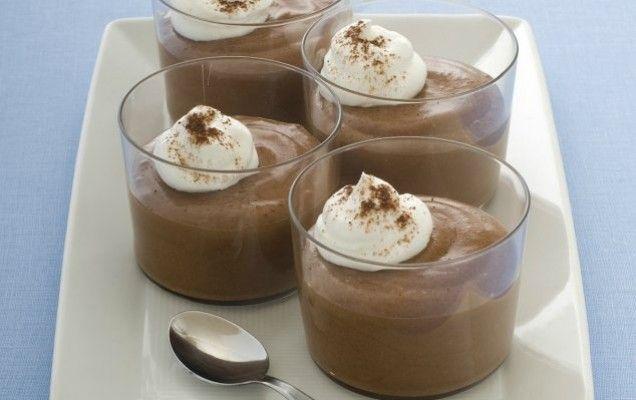 Σοκολατένια μους με ζαχαρούχο γάλα - iCookGreek