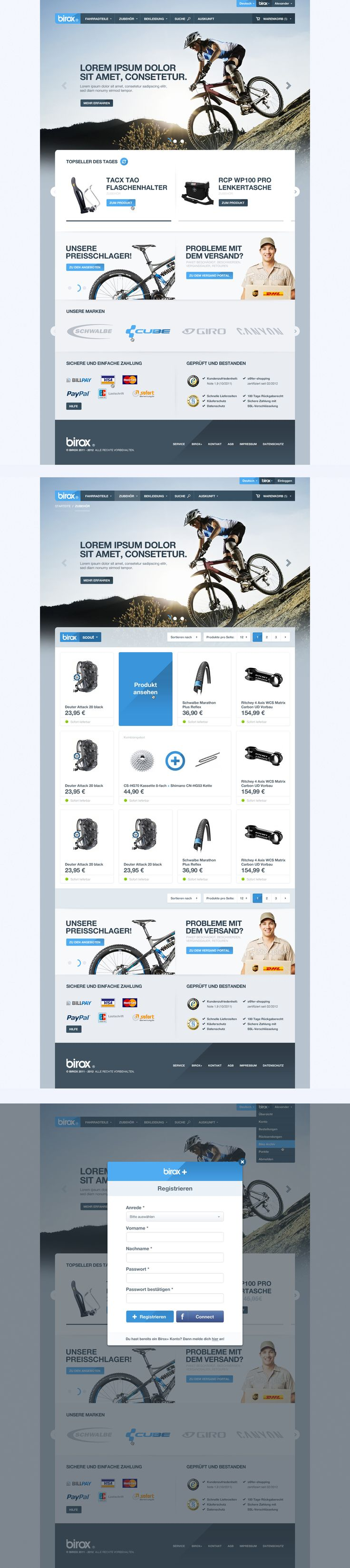 BIROX Online Store by cPl92.deviantart.com on @deviantART