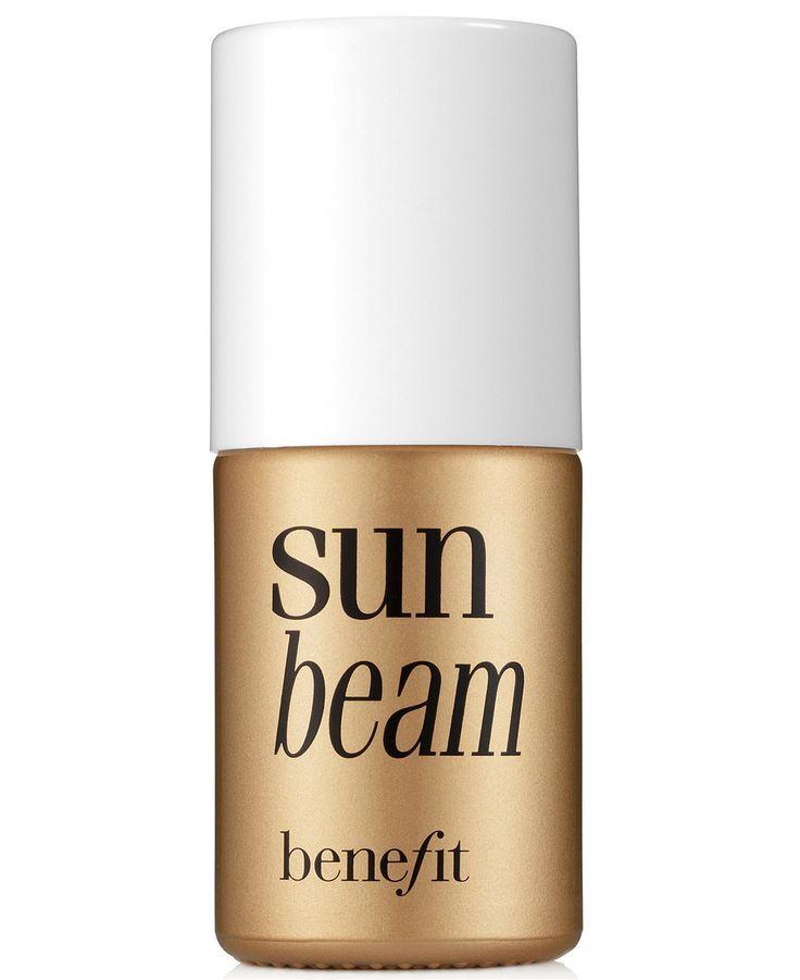 Want a sun-kissed, golden glow? Blend on Benefit Sun Beam highlighter