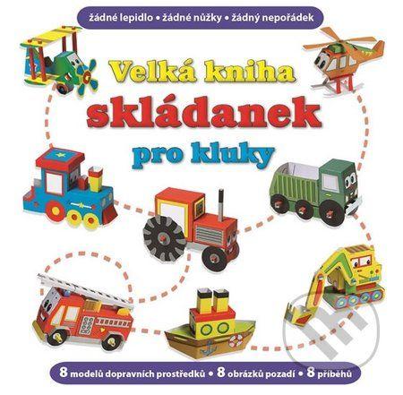 V této knize je pripraveno 8 modelu, které si mužeš sestrojit z vytlacovacích dílu - letadlo, vrtulník, lokomotivu, traktor, nákladní auto, hasicské auto, lod a bagr. U každého stroje najdeš i další prvky na hraní a odpovídající pozadí... (Kniha dostupná na Martinus.cz se slevou, běžná cena 159,00 Kč)