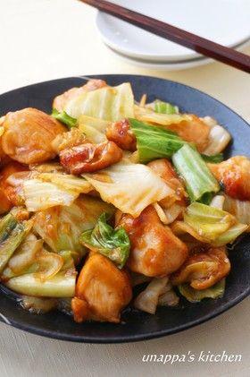 鶏ムネ肉とキャベツの回鍋肉風 by unappa [クックパッド] 簡単おいしい ...