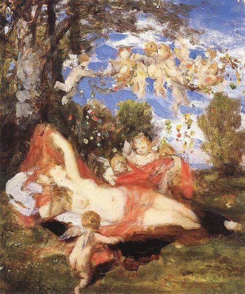 Awakening of Spring - Pal Szinyei Merse 1878