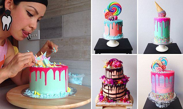 High school teacher creates edible works of art in her spare time