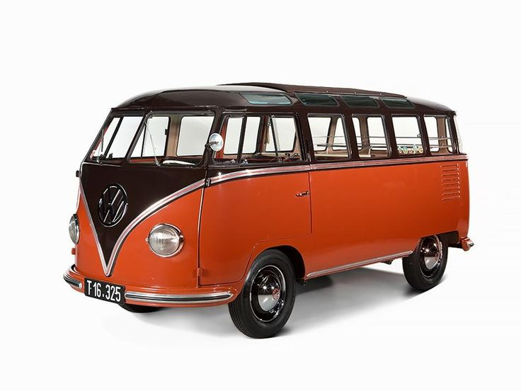 16 best VW 1955 23-Window Samba Deluxe (Barn Door) images ...
