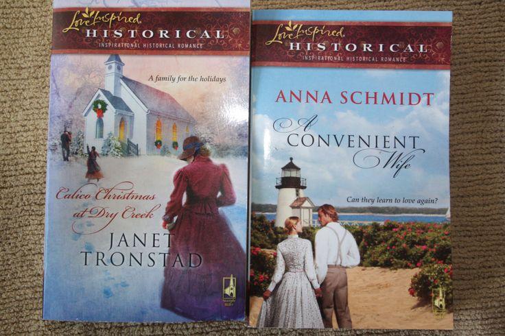 2 Love Inspired Historical books by TheKindLady on Etsy