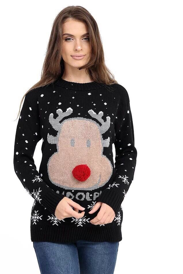 New Novelty Christmas Jumpers M-XXL.new style and new design for christmas  | eBay