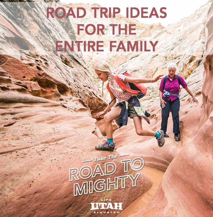 Utah is one of the top family vacation destinations in America and a variety of fun activities and adventures that children and parents will love are waiting to be discovered along the #RoadToMighty.