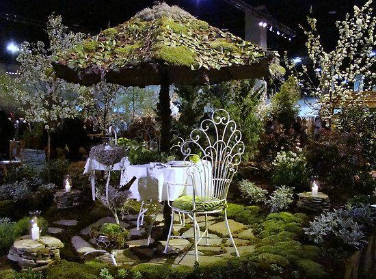 romantic garden design ideas  Romance  Pinterest