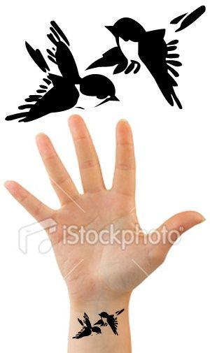 More bird tattoos