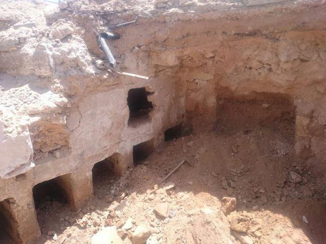 م أحمد سويلم اكتشاف جزء من الجبانة الغربية لمدينة الأسكندرية ال