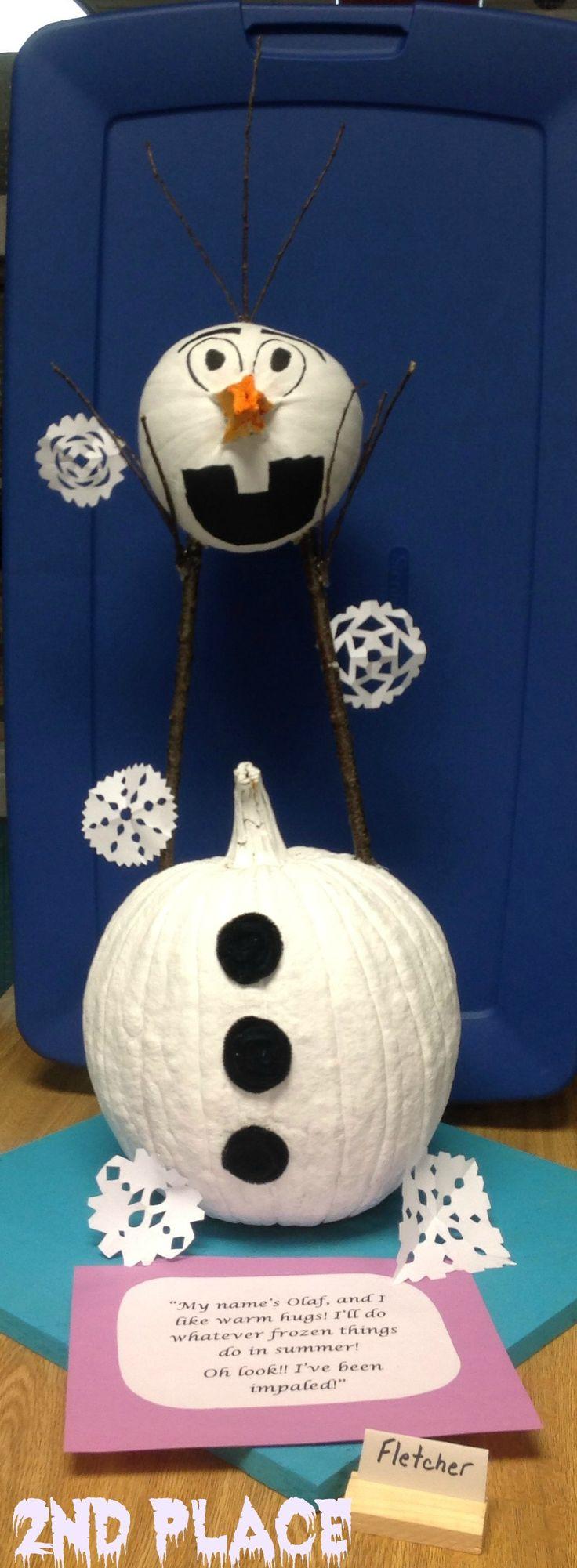 Die 100+ Ideen zum Ausprobieren zu Pumpkin Decoration Contest 2014 ...