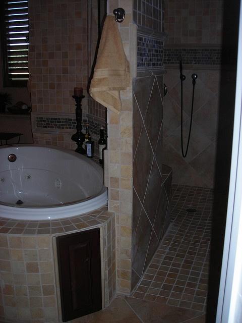 No Curb Bathroom Design Ideas ~ Walk thru shower no curb tile ideas bathroom tiling