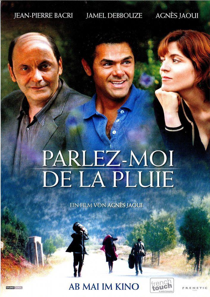 PARLEZ-MOI DE LA PLUIE - 2008 - JEAN-PIERRE BACRI - AGNÈS JAOUI - FILMPOSTER A4