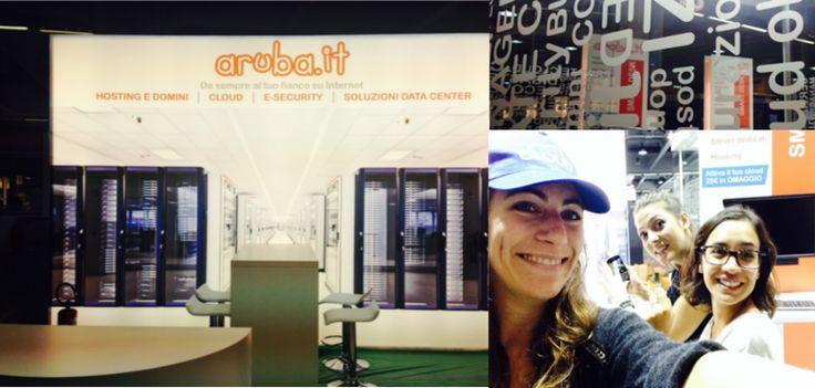 team Aruba allo stand B10 pad 2 - Smau Milano 2014
