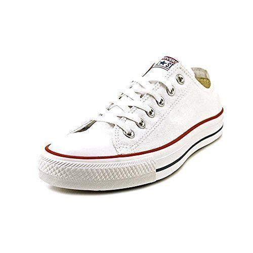 Converse The Chuck Taylor All Star Lo Sneaker (5 US Men's/ 7 US Women's, Optical White)