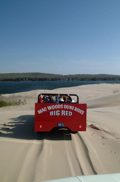 Mac Woods Dune Rides Michigan