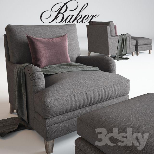 Baker_ Churchill Chair No. 6121C _Michael S Smith