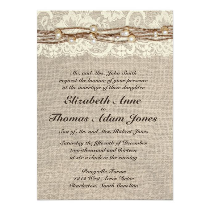 4705 best Rustic Country Wedding Invitations images on Pinterest