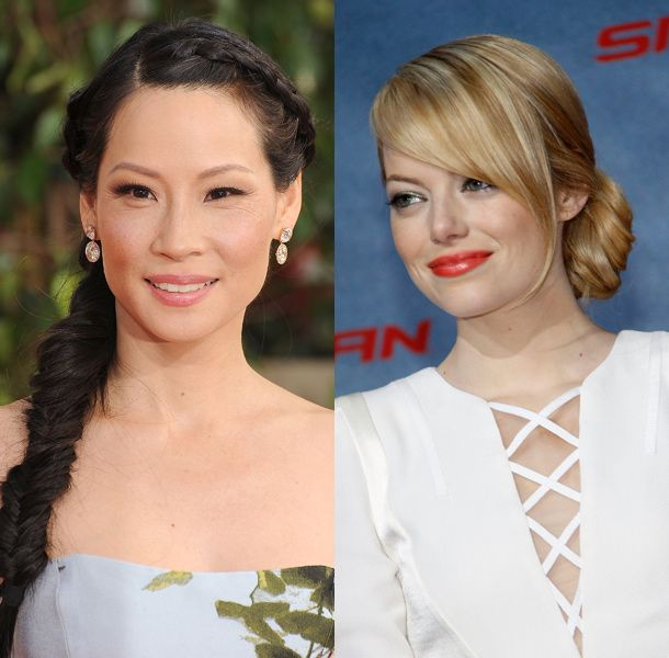 Celebrities Inspired Hairstyles for Wedding