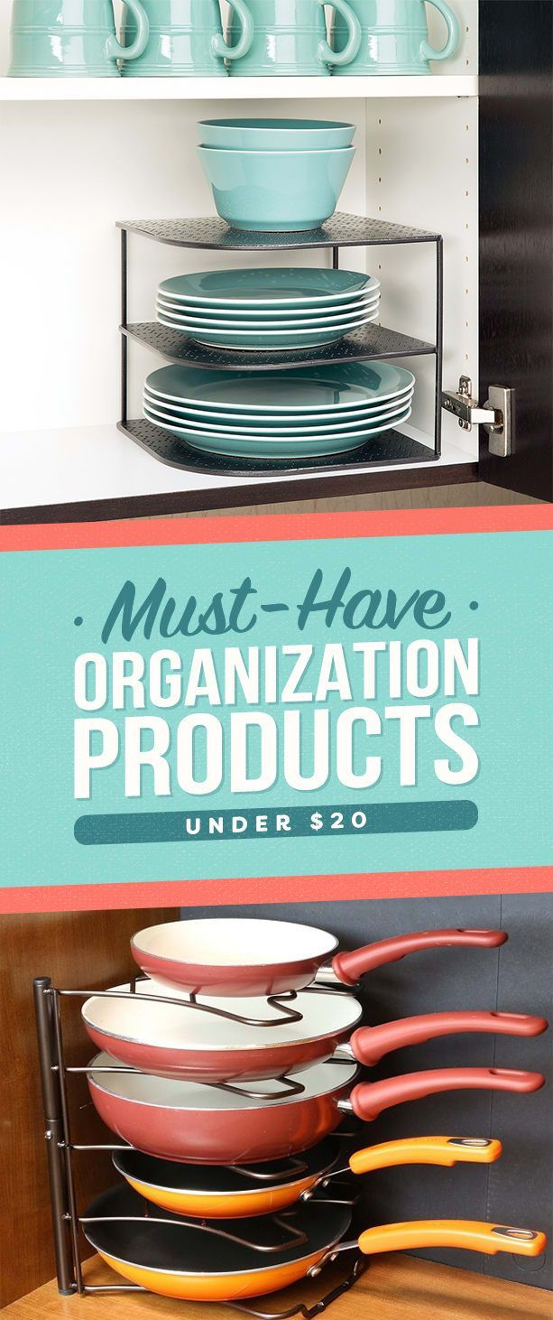 33 Organization Products Under $20 That Are Worth Your Money