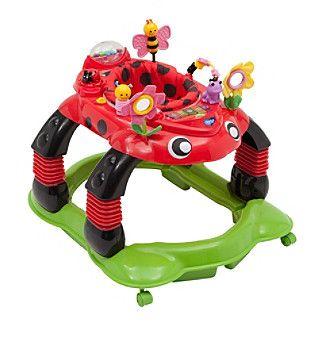 Delta Children Lil Play Station 3-in-1 Sadie the Ladybug Activity Walker