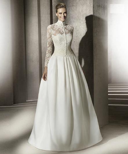 Венчальное платье в испанском стиле