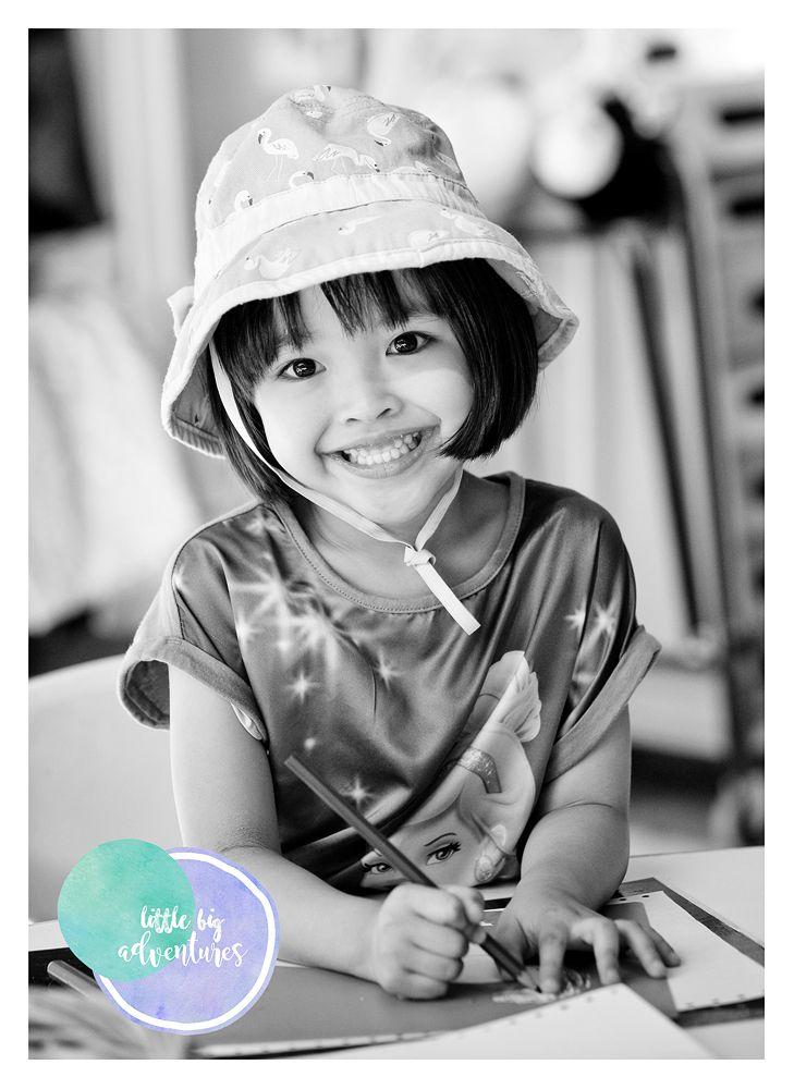 Twice as Nice in Black & White!  Timeless Kinder Memories.