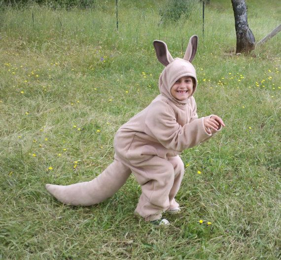 Kangaroo costume cosplay many sizes. by amysewsit on Etsy