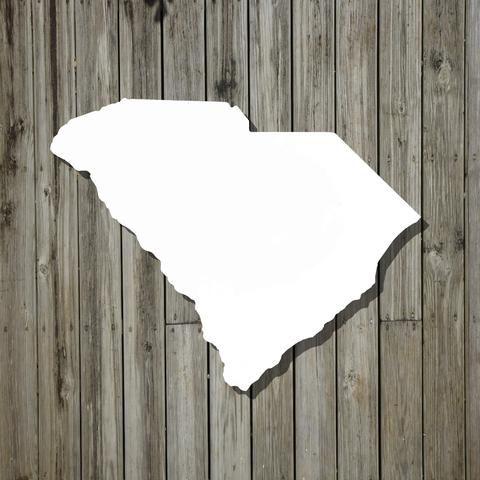 Small Whiteboard, State Shaped Kitchen Whiteboard Any State: Small Size - Whiteboard - State Shaped Cutouts