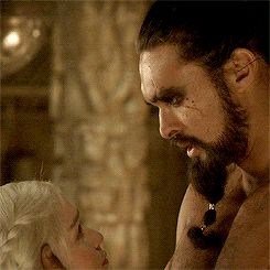Game of Thrones:  Daenerys Targaryen and Khal Drogo
