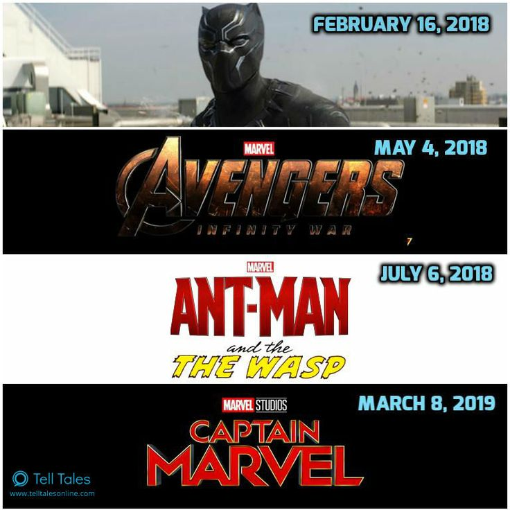 Marvel release dates in Australia