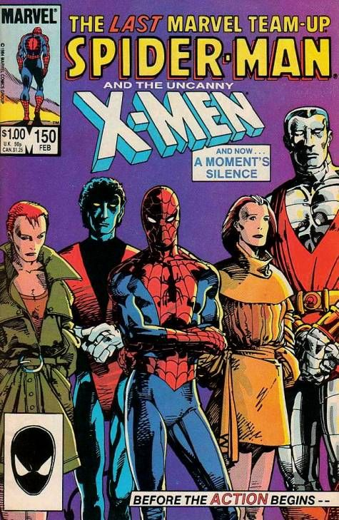 The Last Marvel Team-Up #150 - Spider-Man and the Uncanny X-Men