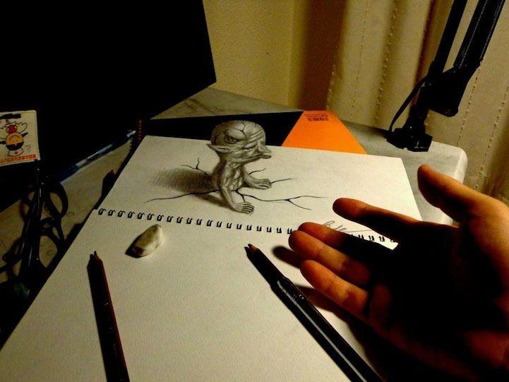 Impressive 3D Drawings