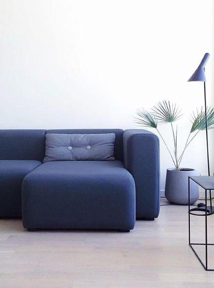 Via Emma b | Palette Noir | HAY Mags Sofa | Arne Jacobsen Lamp