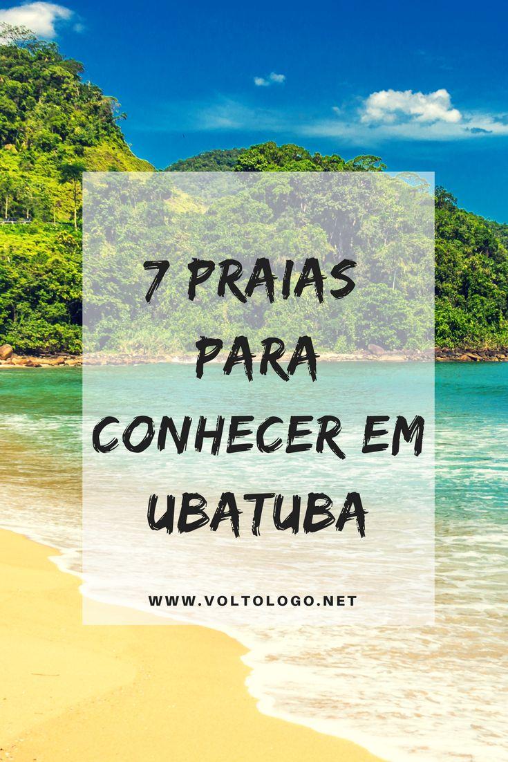 7 praias para você conhecer em Ubatuba, no litoral norte de São Paulo.