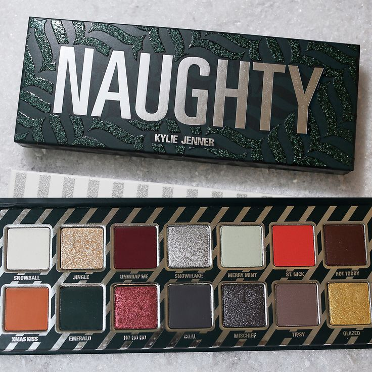 "133.1k Likes, 1,163 Comments - Kylie Cosmetics (@kyliecosmetics) on Instagram: ""The Naughty Palette #Holiday2017"""