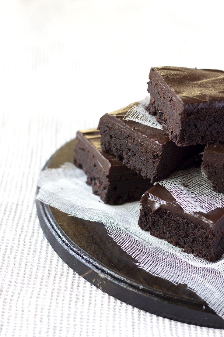 Brownies au mascarpone et ganache