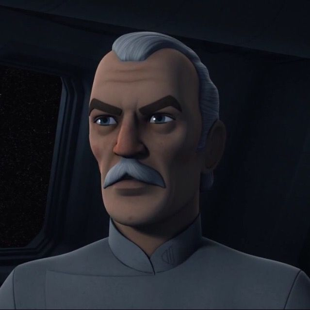Deputy Director of the Imperial Naval Intelligence Agency; Colonel Wullf Yularen.