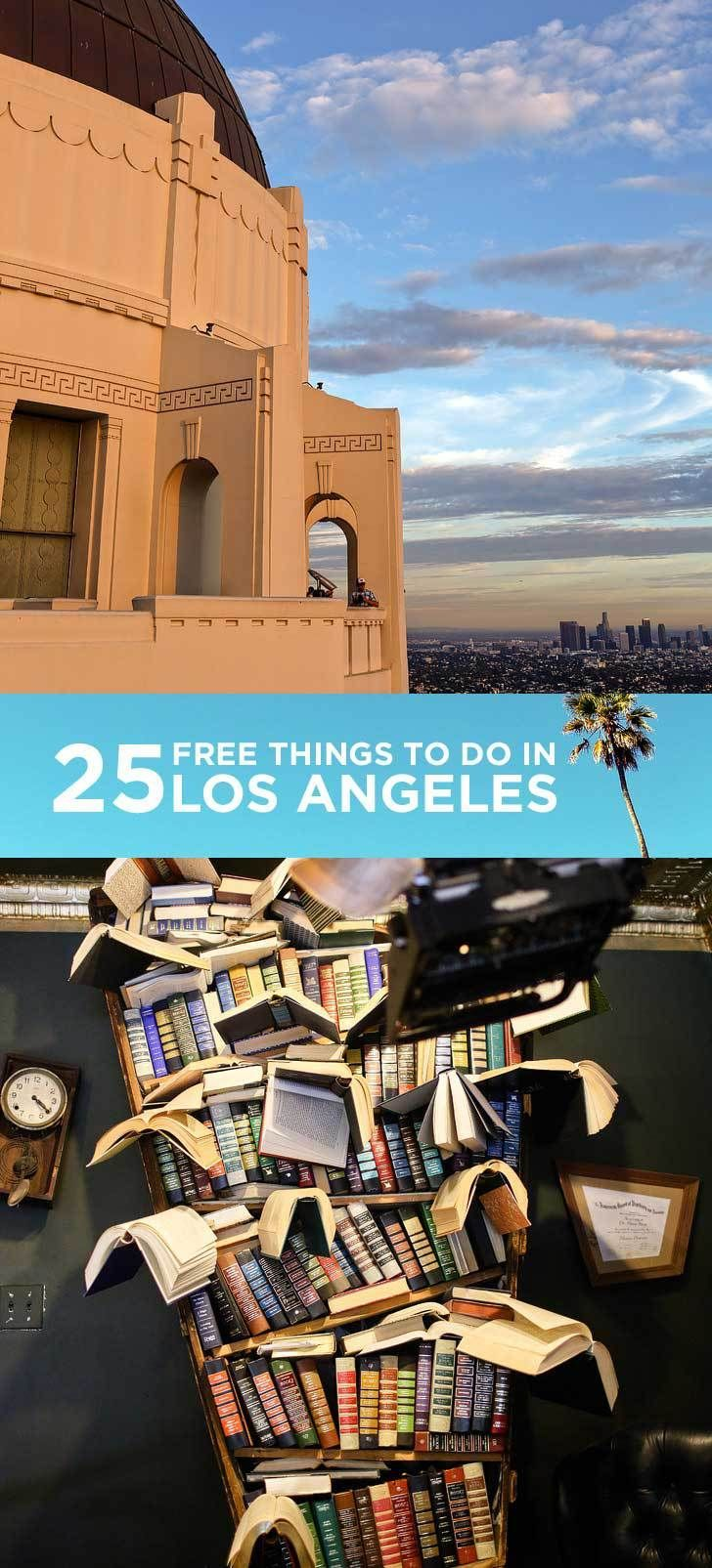 25 Free Things to Do in LA // localadventurer.com