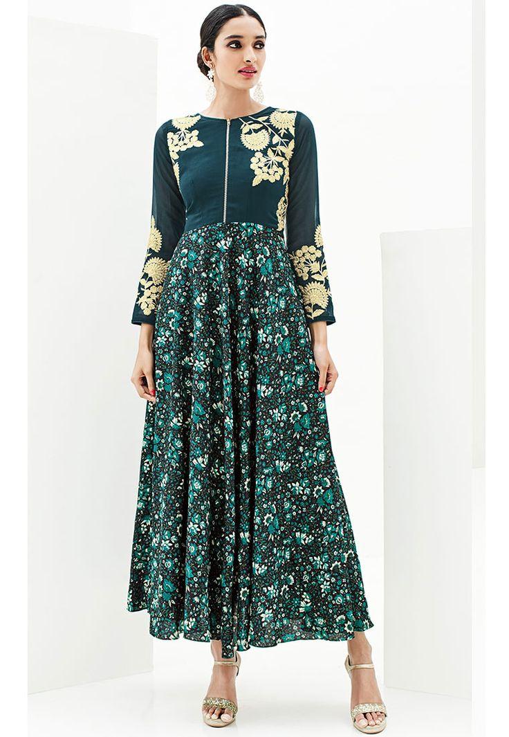 """Mistrust all enterprises that require new clothes.""  #followmefashions #like4like #tagsforlikes #amazingcollections #beautyfashion #kurtimaterial"