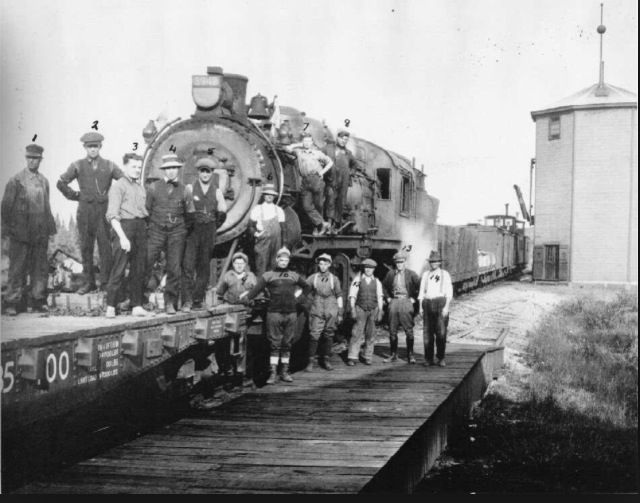 The people and the railway