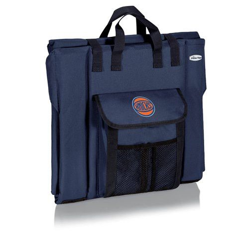 New York Knicks Portable Stadium Seat w/Digital Print - Navy