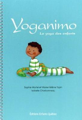 Ce livre de yoga pour enfants propose 40 postures différentes représentant…