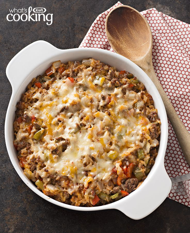 Mexican Unstuffed Pepper Casserole #recipe